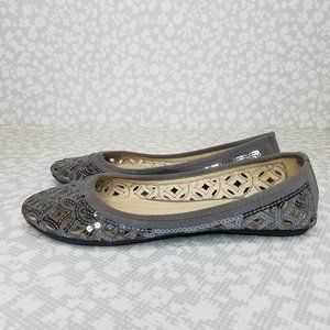 Charming Charlie Sequin Flats